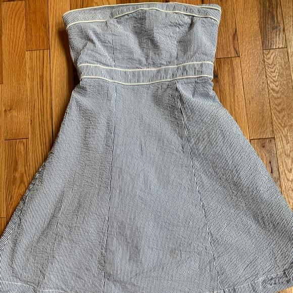 Merona Dresses & Skirts - Seersucker strapless dress